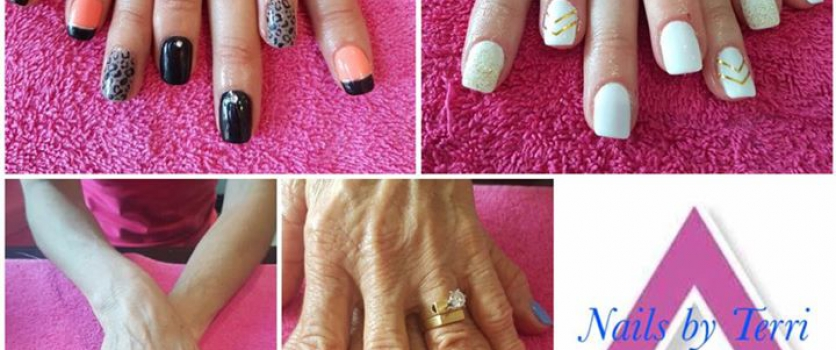 Treat yourself, you deserve it.   Nails by Terri @ In The Mood.  051 436 0303