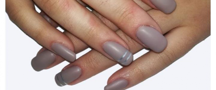 CLASSIC NUDE BIO GEL (ASHES OF ROSES) WITH A MATTE TOP COAT DONE Doné's