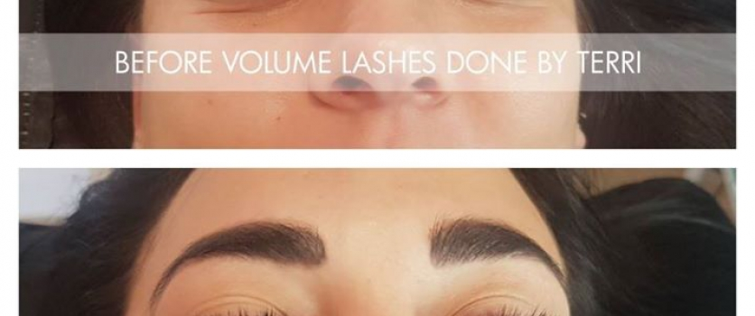 Lash-On Individual Eyelash Extensions Volume Lashes done by Terri from Doné's @ …