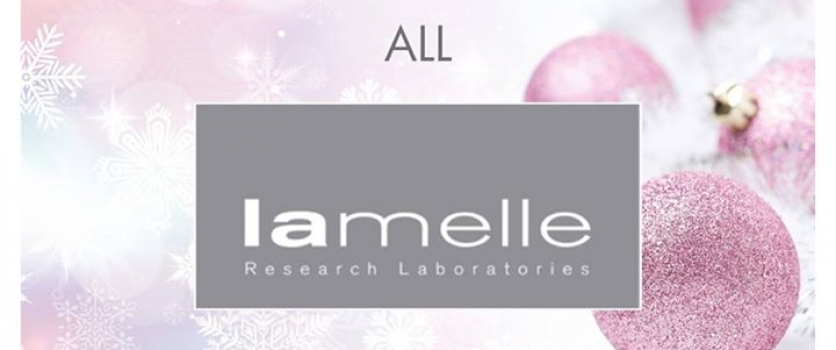 Stock up before Christmas. 10% OFF on all Lamelle Research Laboratories products…