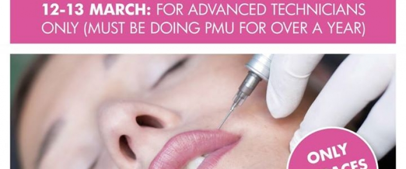 Advanced Full Lip PMU Training at Doné's – Only 2 spaces left!