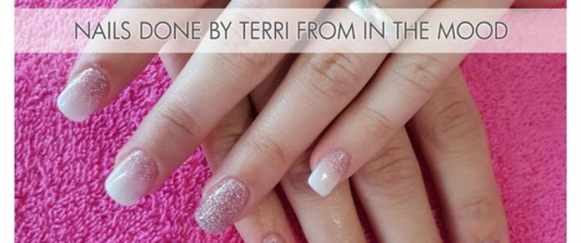 Nails done by Terri from Doné's @ In the Mood
