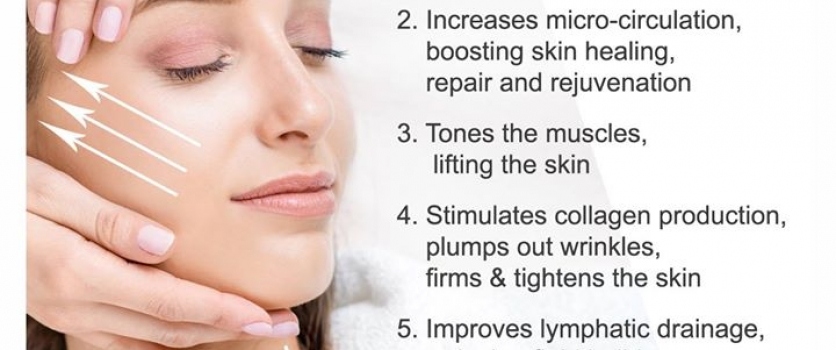 The benefits of a Facial Massage at Doné's