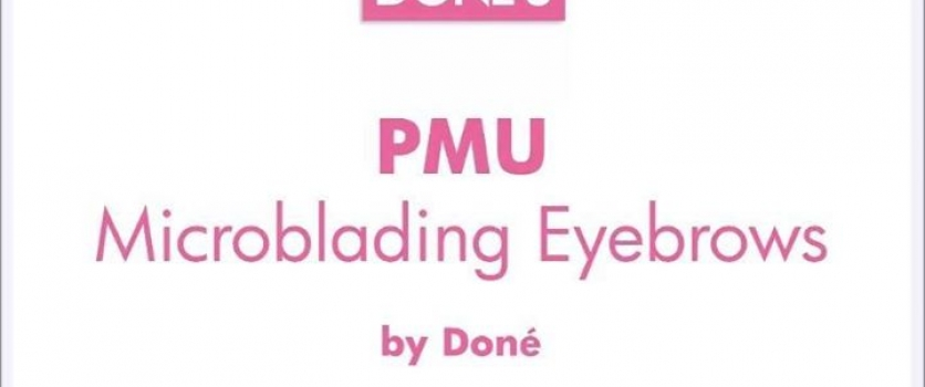PMU: Healed Microblading Eyebrows before Touch-Up by Doné