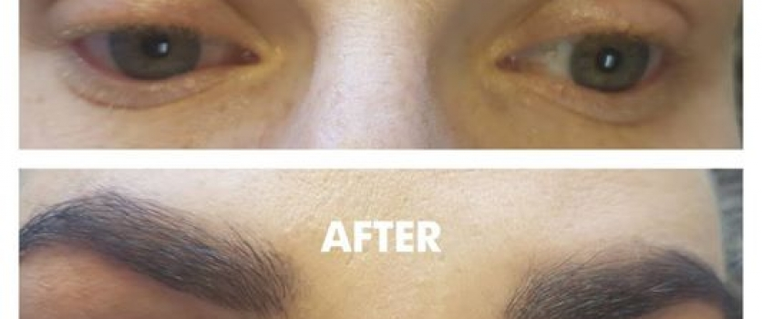 LUMI EYELINER showing magical results!  Client has extremely sensitive eyes and …