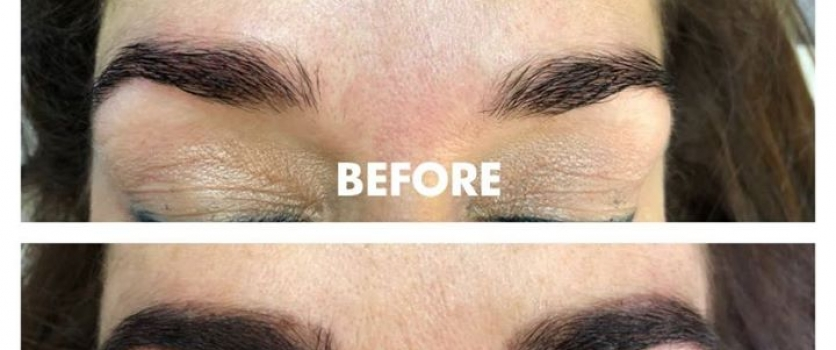 HENNA SPA BROWS: Before and After at Doné's