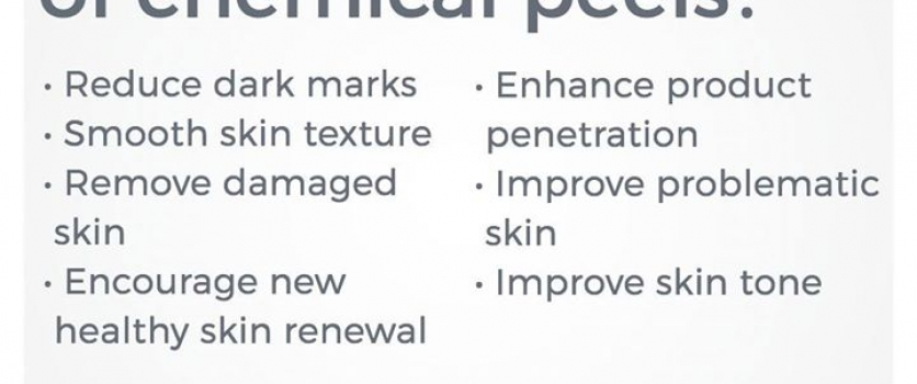Ever wonder what is the purpose is of chemical peels?