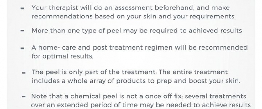 Never had a skin peel before? Here's what should you expect.
