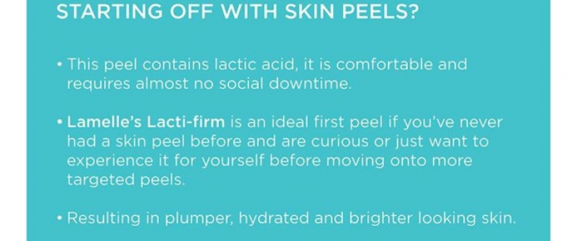 Feeling nervous about your first peel and don't know what to expect?  Well then …