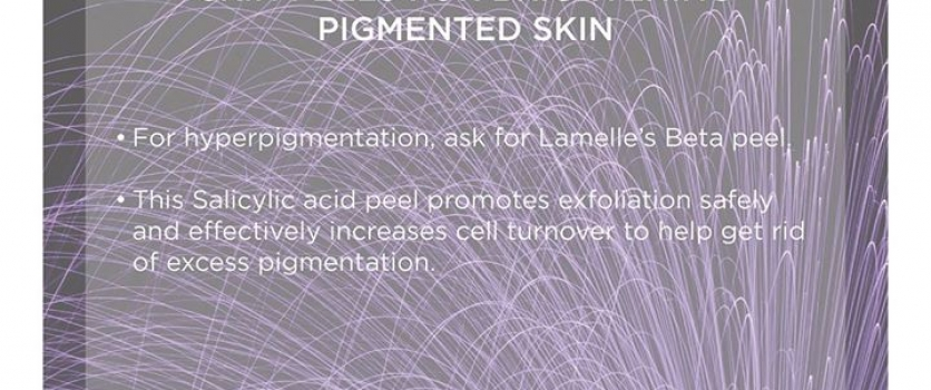 Has your pigmentation got you feeling self conscious without your make-up? Then …