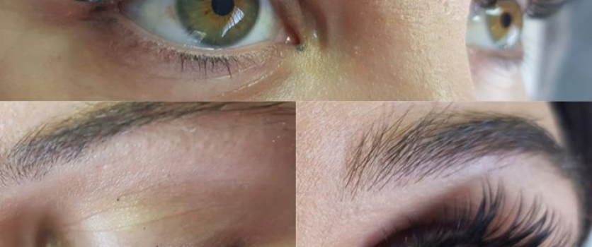 Volume Lashes done by Sanet at Doné's