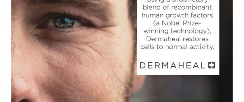 As your skin ages, cell turnover slows down. Dermaheal contains recombinant huma…