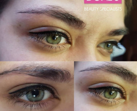 PMU Top Eyeliner: Immediately after- and healed results, only at Doné's