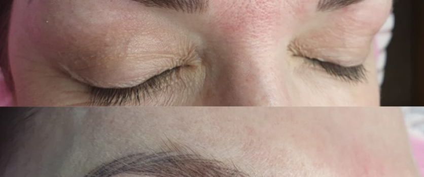 PMU: Healed Eyebrows done at Doné's