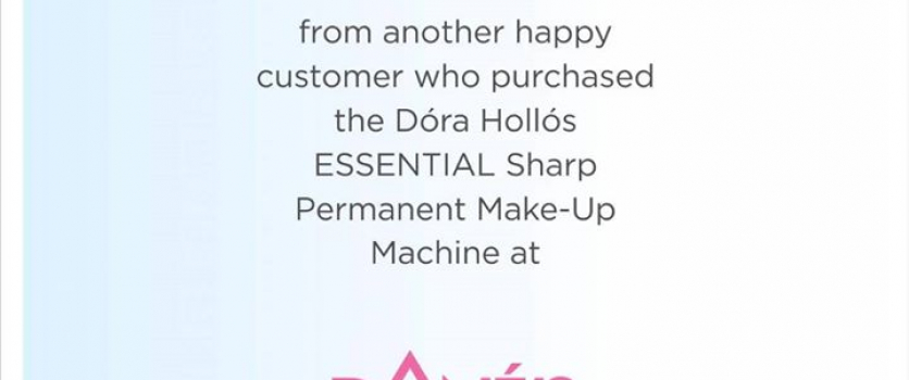 TESTIMONIAL FROM ANOTHER HAPPY CUSTOMER, who purchased the Dora Hollos ESSENTIAL…