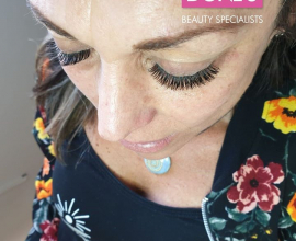 Natural Volume Lashes done by Sanet at Doné's