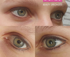 PMU: Very Natural Eyeliner (requested by client), healed and before touch-up, do…