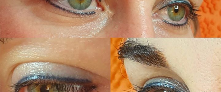 PMU EYELINER: This client is still very happy with her eyeliner done in 2012 at …