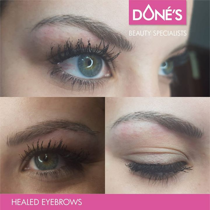 Pmu Healed Eyebrows Done At Dons Dons
